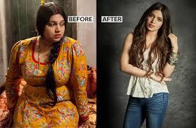 bhumi pednekar weight loss t plan