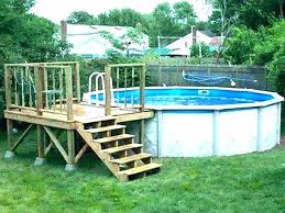 homemade above ground pool above ground pool ladder deck above ground pool ladder diy inground pool homemade above ground pool