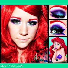 tutorial little mermaid makeup kit