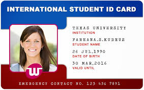 identity card template word card template word screenshoot divine beautiful student templates