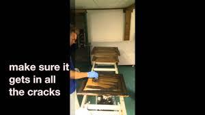 Oak Cabinets Stained Dark Glazingstaining Your Old Honey Oak Cabinets Darker Youtube