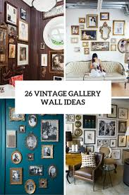26 vintage gallery wall ideas cover