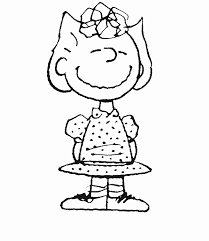 Sally Peanuts Characters Coloring Pages Peanuts Coloring Pages