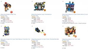 one get one half off select imaginext toys at amazon