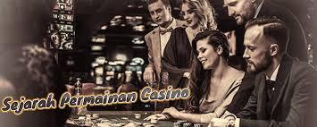 Hasil gambar untuk sejarah permainan live casino