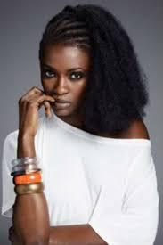 Coiffure Pour Cheveux Cr Pus Avec Des Tresses Africaines Sur La