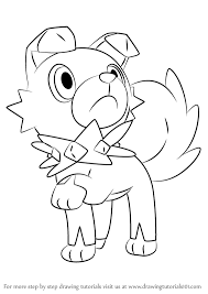 Learn How To Draw Lycanroc Midnight Form From Pokemon 7 Modern