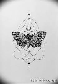 черно белый эскиз тату геометрия 09032019 002 Tattoo Sketch