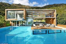 Perfect Indoor Infinity Pool Design Spa House Is A Luxurious Private Villa In Intended Creativity