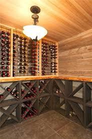 wine cellar lighting rustic wine cellar with high ceiling slate tile floors pendant light wine racks wine cellar lighting