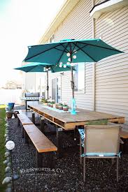 diy pallet outdoor dinning table. Decorated DIY Pallet Outdoor Dining Table Diy Pallet Outdoor Dinning Table L