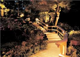 image of outdoor stair lighting low voltage
