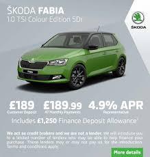 Skoda Fabia Colour Chart New Skoda Fabia Colour Edition Cars For Sale Bristol
