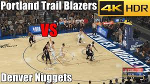 Portland Trail Blazers VS Denver Nuggets 2/23/21 NBA 2K21 Prediction PS5  Gameplay 4K HDR - YouTube