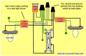 wiring diagrams to add a new light