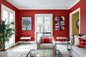 decorating with red furniture. View In Gallery Exquisite Way To Use Red The Living Room [Design: Clean  Design] Decorating With Furniture