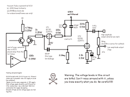 synth schematics vacuum tube vco a few warning words this circuit uses pretty high voltage levels its certainly not to be built by people who never worked high voltages