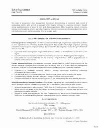 Retail Manager Resume Retail Assistant Manager Responsibilities Resume Resumes Template 17
