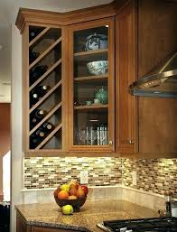 corner wine rack cabinet stylish best ideas on build a diy cooler small