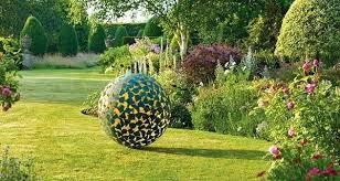 modern outdoor sculpture yard modern garden sculptures