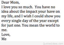 I Love You Mom Quotes Extraordinary Cartoon Love Mom Quote 48