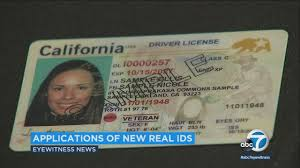 To com Real Dmv Applications Accept Id Abc7 Begins