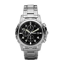 men watches top brand watch reviews fossil men s fs4542 stainless steel bracelet black analog dial chronograph watch