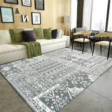 Winlife Moderne Wohnzimmer Teppich Vintage Teppich Für Schlafzimmer