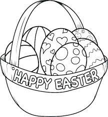 Easter Coloring Pages Printable Free Pages To Color And Print Egg