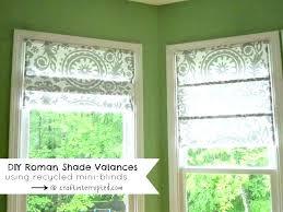 roman shade valance roller shades roman blinds tutorial roman shades roman shade valances using mini blinds