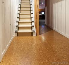 cork flooring has a supportive and springy surface