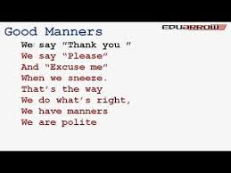 good manners essay for kids good habits and manners lists of good habits and manners
