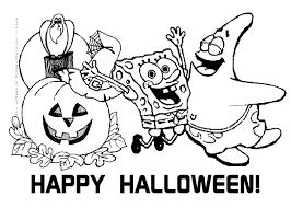 Free Printable Halloween Calendar Halloween Spongebob Squarepants