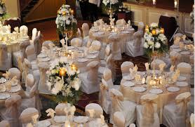 lighting embellishing a table with table wedding