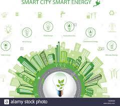 Ecological City Design Ecological City Concept Smart City Concept And Smart Energy