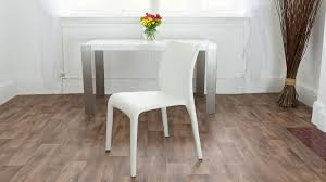 white leather dining chairs. Simple White Dining Chair Leather Chairs