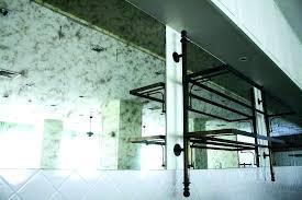 antique mirror glass 5 x tiles ready to wall diy mercury