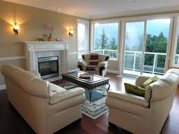 modern mansion living room. White Stark Interior Design For Living Room With View To The Forest Modern Mansion