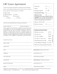 Free Lease Agreement Template - Sarahepps.com -