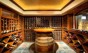 African mahogany wood was used for cellar