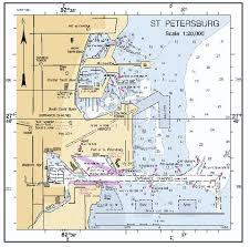 Tampa Bay Marine Chart Tampa Bay Depth Map 2019