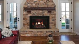 rushmore clean face direct vent fireplace inserts with truflame technology