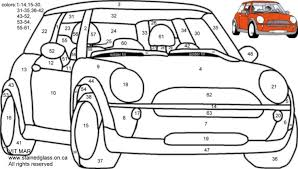 Small Picture Mini Car Coloring Pages Coloring Pages