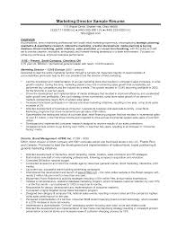 Free Senior Marketing Manager Resume Sample Templates At