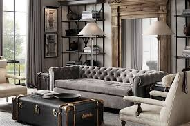 restoration hardware shade of gray home decor new york girl style
