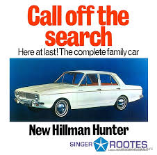 Hillman Hunter Art Print