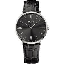 buy the men s hugo boss 1513369 watch francis gaye jewellers men 039 s jackson ultra slim black strap watch