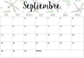 Calendarios Septiembre 2015 Imprimibles Imprimir Pinterest