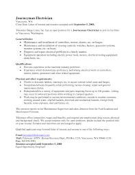 Amazing Apprentice Electrician Resume Photos Resume Samples