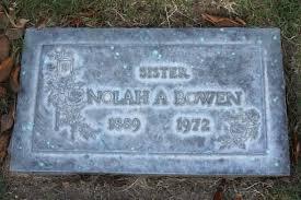 Nolah Alice Bowen (1889-1972) - Find A Grave Memorial